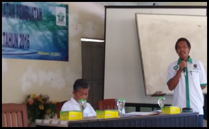 Kepala Seksi Program selaku Ketua Panitia Pembekalan KBR 2016